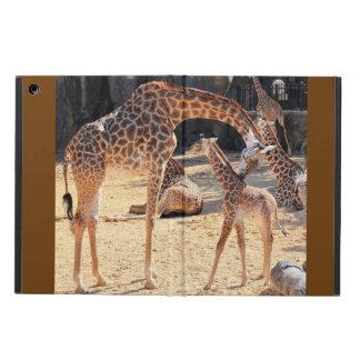 Zoete Giraffen, Mamma en Baby, iPad Lucht iPad Air Hoesje