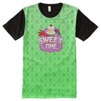 Zoete groene Tijd Al Gedrukte T-shirt