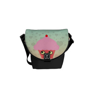 Zoete Kawaii Cupcake Messenger Bag