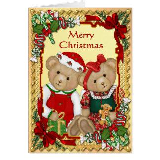 Zoete Kerstmis draagt - berijm binnen Kaart