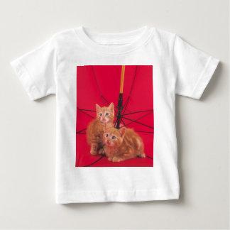 Zoete liitle rode katten baby t shirts