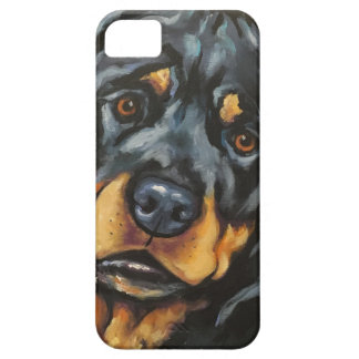 Zoete Rottweiler Barely There iPhone 5 Hoesje