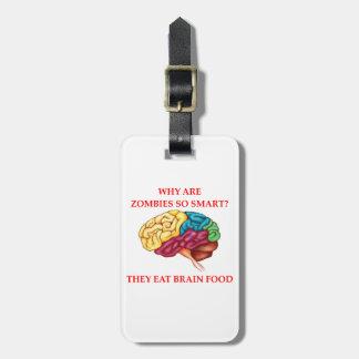 zombieën bagagelabel