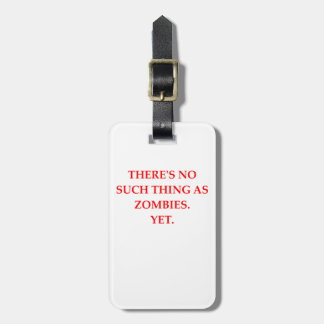 zombieën kofferlabel