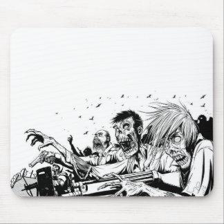 Zombieën met Pistolen Muismat
