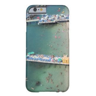 Zomer van het Uitzicht van het Strand van Sorrento Barely There iPhone 6 Hoesje