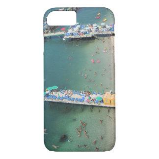 Zomer van het Uitzicht van het Strand van Sorrento iPhone 7 Hoesje