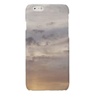Zon en Wolken Glossy iPhone 6 Hoesje