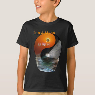 Zon & maan-verduistering-Tijd T Shirt