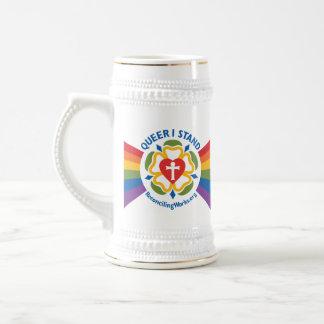"""""""Zonderling bevind ik me"""" stenen bierkroes Bierpul"""