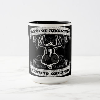 Zonen van Boogschieten - Mok van de Koffie van de