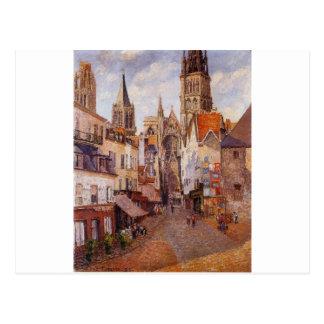 Zonlicht, Middag, La Rue DE l'Epicerie, Rouen Briefkaart
