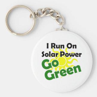 zonne macht sleutelhanger
