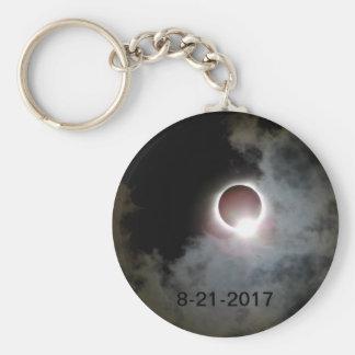 Zonne Verduistering 21 Augustus 2017 Sleutelhanger