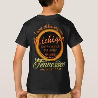 Zonne Verduistering - Michigan aan TN de T Shirt