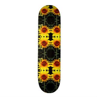 Zonnebloemen 18,1 Cm Old School Skateboard Deck