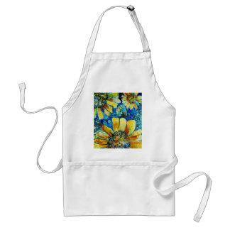 Zonnebloemen, de Fijne Producten van de Kunst Schorten