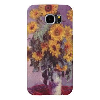 Zonnebloemen door Claude Monet Samsung Galaxy S6 Hoesje
