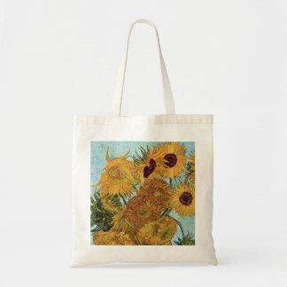Zonnebloemen door Van Gogh Draagtas