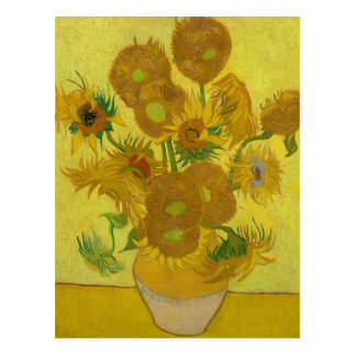 Zonnebloemen door Vincent van Gogh Briefkaart