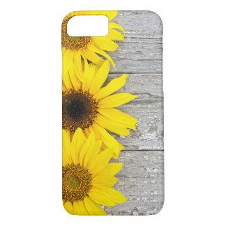 Zonnebloemen op een lijst iPhone 8/7 hoesje