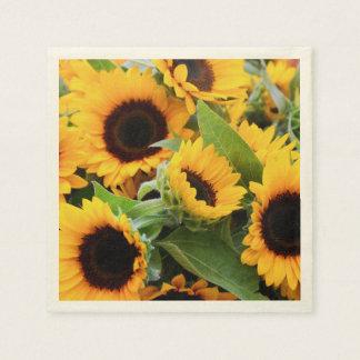 Zonnebloemen Papieren Servet
