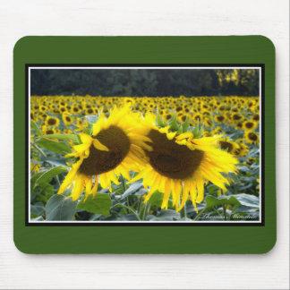 Zonnebloemen samen Mousepad door Thomas Minutolo Muismatten