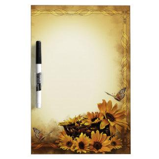 Zonnebloemen & Vlinders Whiteboards