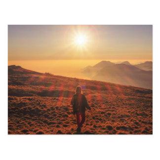 Zonneschijn - Dawn of Schemer Briefkaart