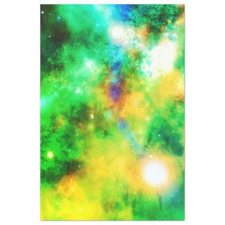 Zonnestelsel van de kosmossterren van het papieren tissuepapier