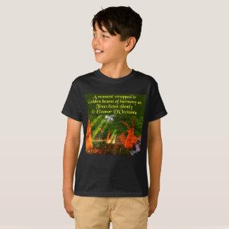 Zonnestralen van de T-shirt van Hanes van het Kind