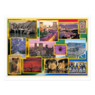 Zonnig Zuid-Afrika Briefkaart