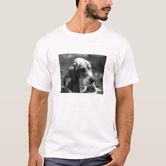 Zonnige Basset van de Dag T Shirt
