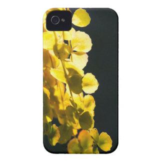 Zonnige bladeren iPhone 4 hoesje