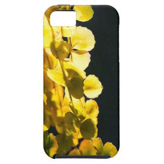 Zonnige bladeren tough iPhone 5 hoesje