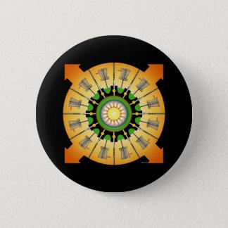Zonnige Manden Ronde Button 5,7 Cm