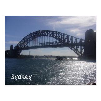 zonnige Sydney brug Briefkaart