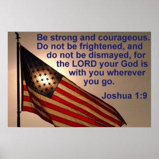 Zonovergoten Vlag met 1:9 Joshua Poster