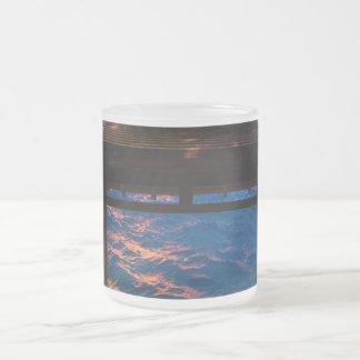 Zonsondergang bij de Baai van het Paradijs Matglas Koffiemok