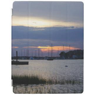 Zonsondergang bij de Haven van de Dwaasheid iPad Cover