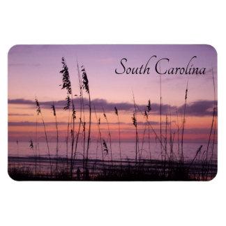 Zonsondergang de Zuid- van Carolina met de Haver Magneet