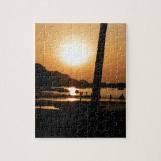 Zonsondergang in Goa Puzzels