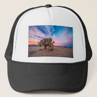 Zonsondergang in Mojave Trucker Pet