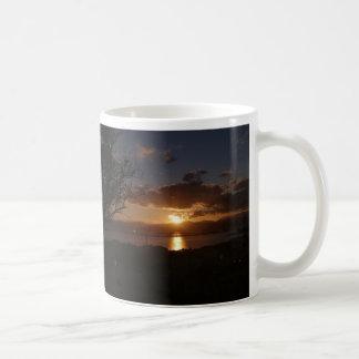 Zonsondergang in Sardinige Koffiemok