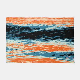 Zonsondergang/Oceaan/Golf/Zee Deurmat