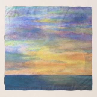 Zonsondergang op de Horizon Sjaal