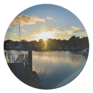 Zonsondergang over Cape Cod Melamine+bord