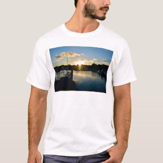Zonsondergang over Cape Cod T Shirt