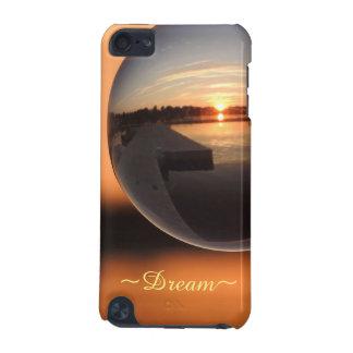 Zonsondergang over de Kristallen bol van het Water iPod Touch 5G Hoesje