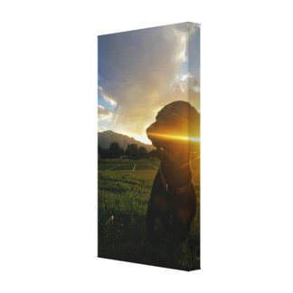 Zonsondergang over Kei Colorado Canvas Afdruk